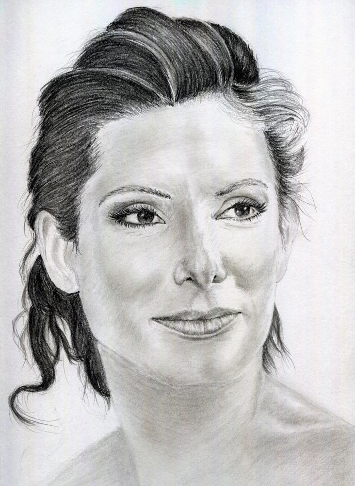 Sandra Bullock by Hasiss